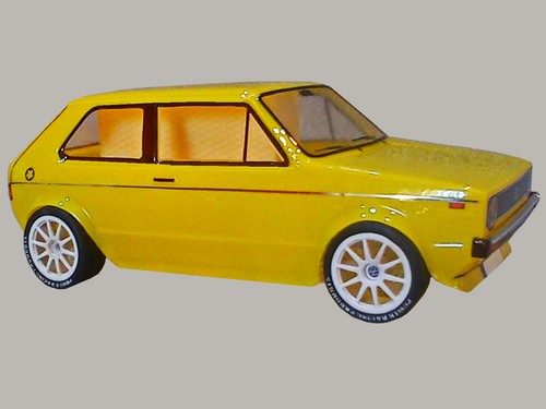 Retro Rc Bodies 187 Vw Golf I