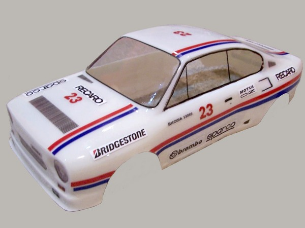 Retro RC Bodies Skoda 130RS