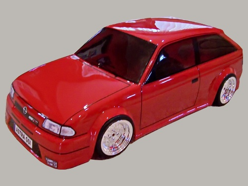 Retro Rc Bodies 187 Opel Astra Gsi